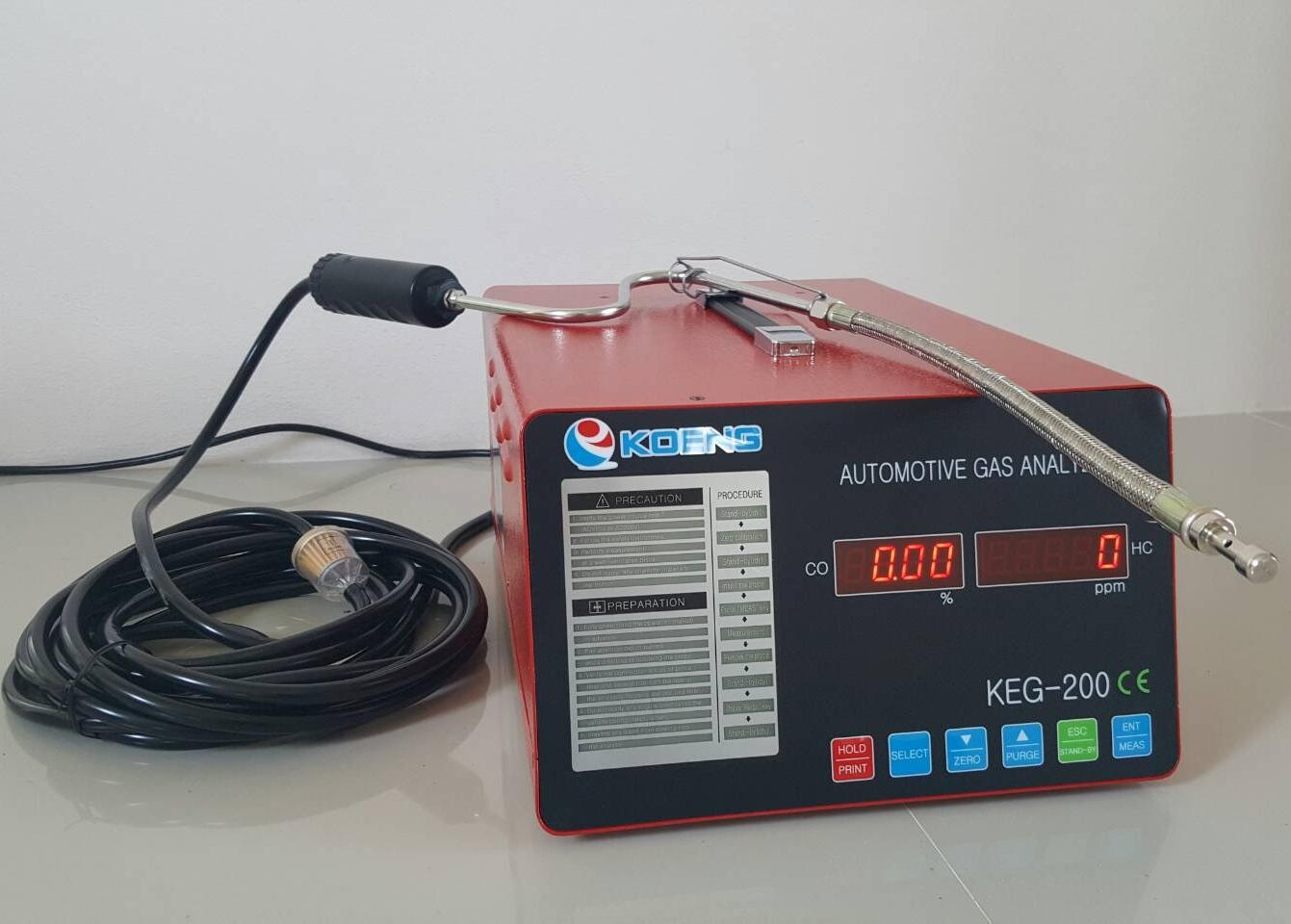 เครื่องวัดก๊าซ HC KOENG KEG-200