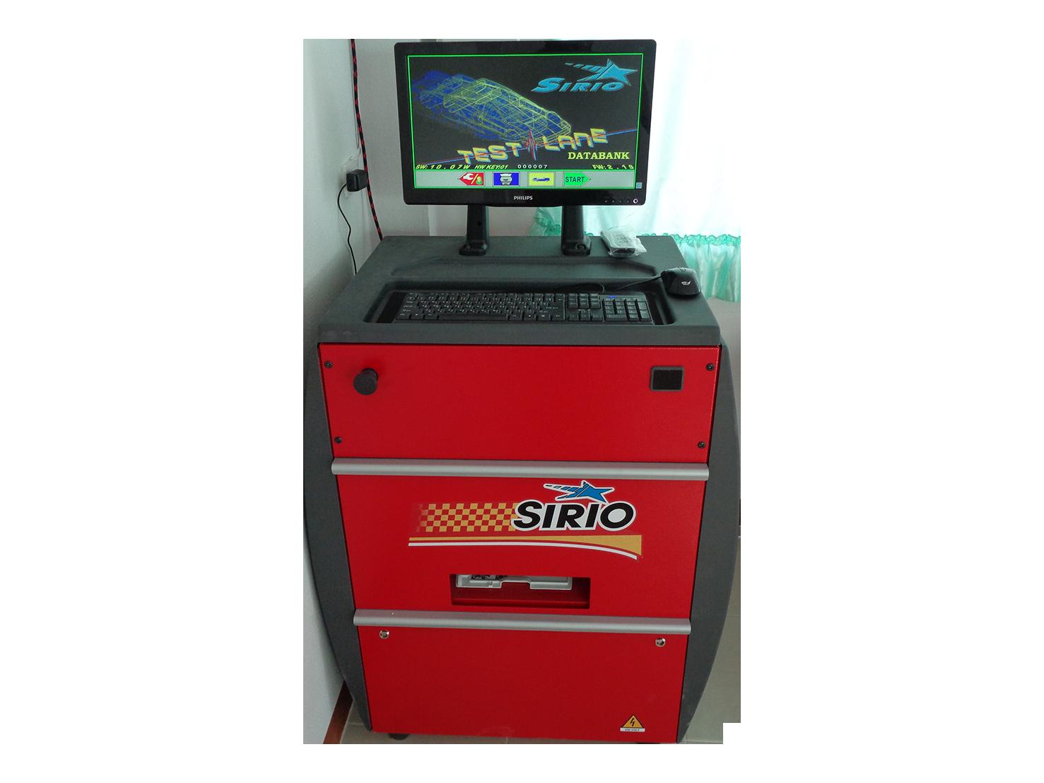 ชุดควบคุมเครื่องทดสอบเบรกและศูนย์ล้อ SIRT009l4SE